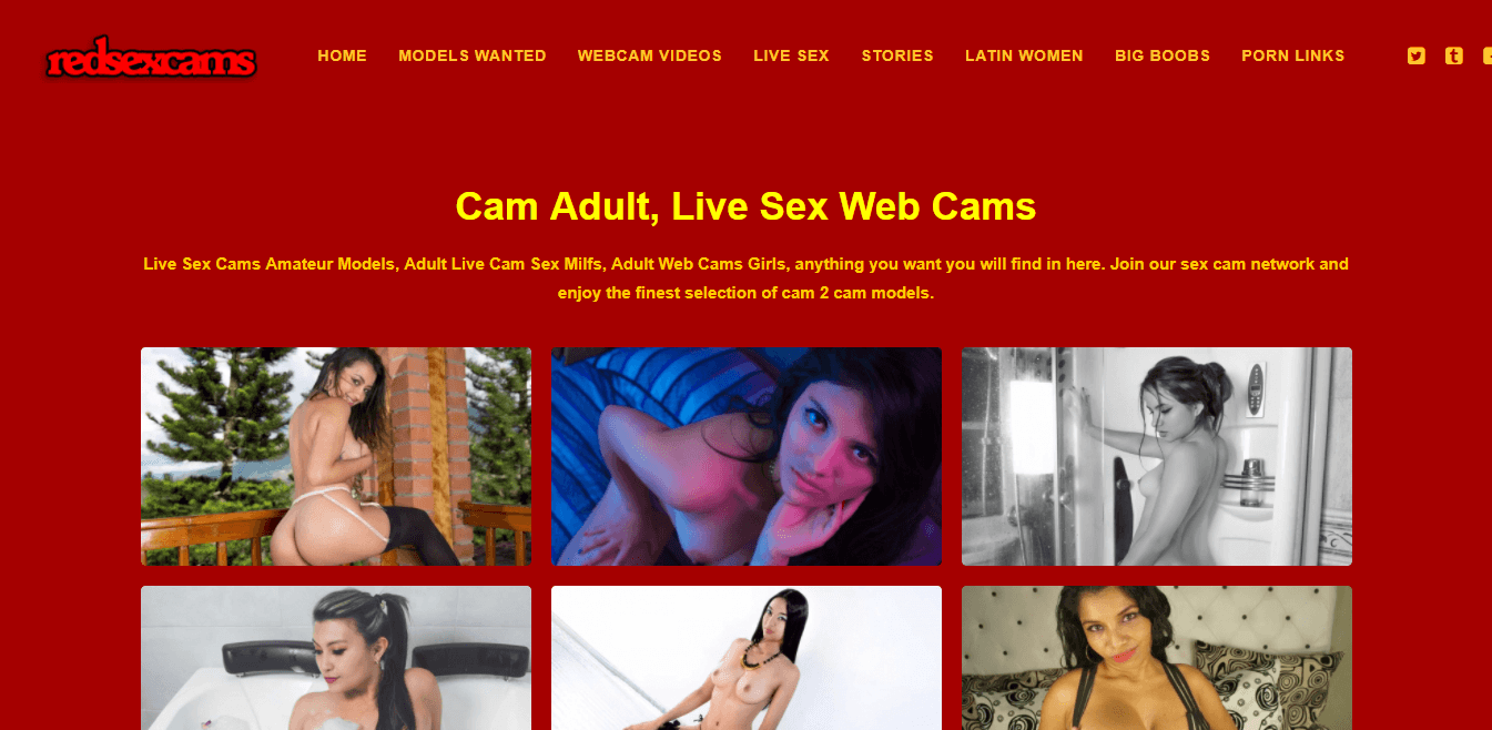 Screenshot redsexcams.com