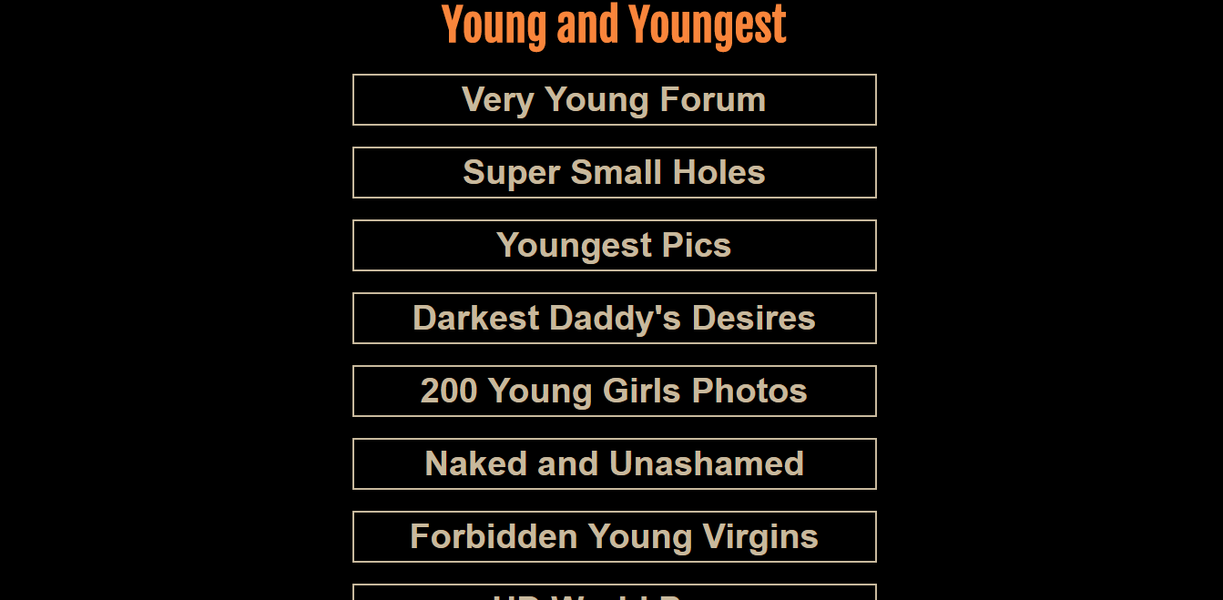 Screenshot youngandyoungest.net