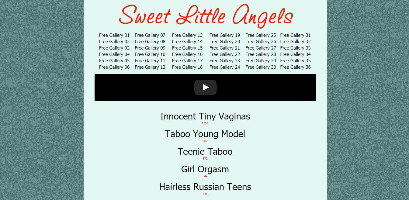 Screenshot sweet-little-angels.net
