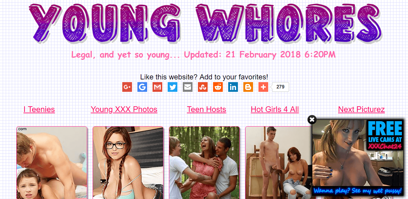 Screenshot young-whores.net