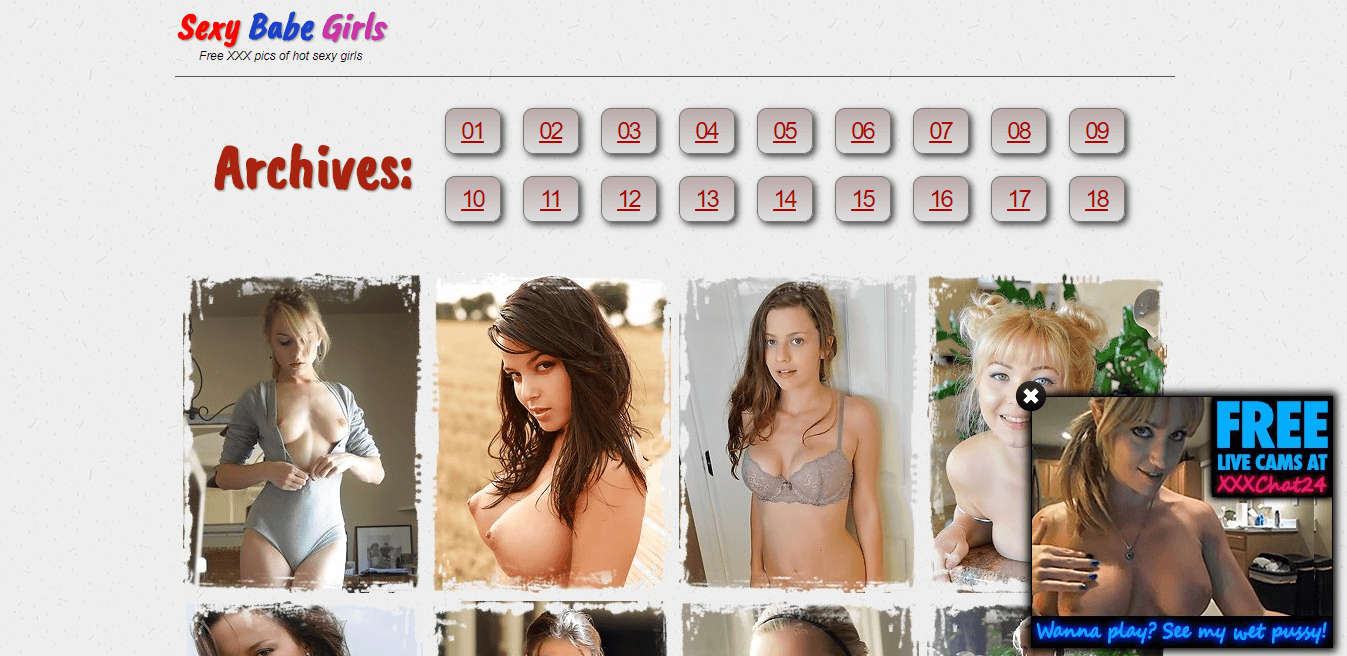 Screenshot sexybabegirls.com