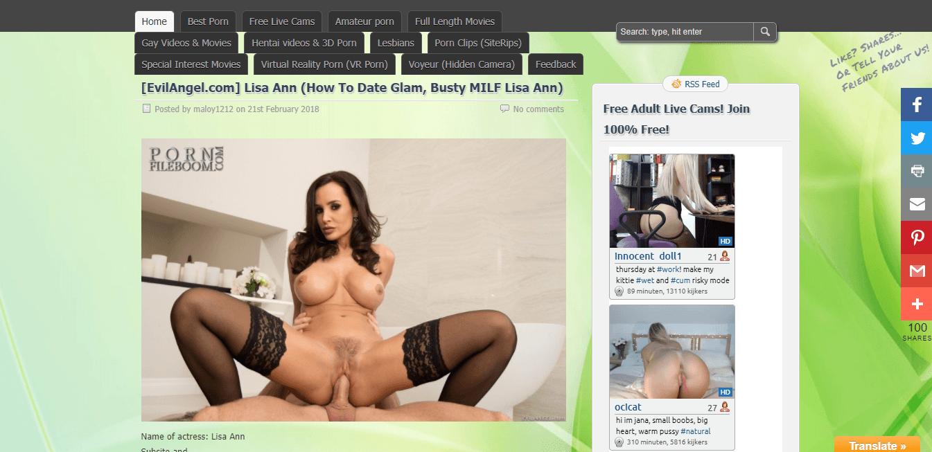 Screenshot pornfileboom.com
