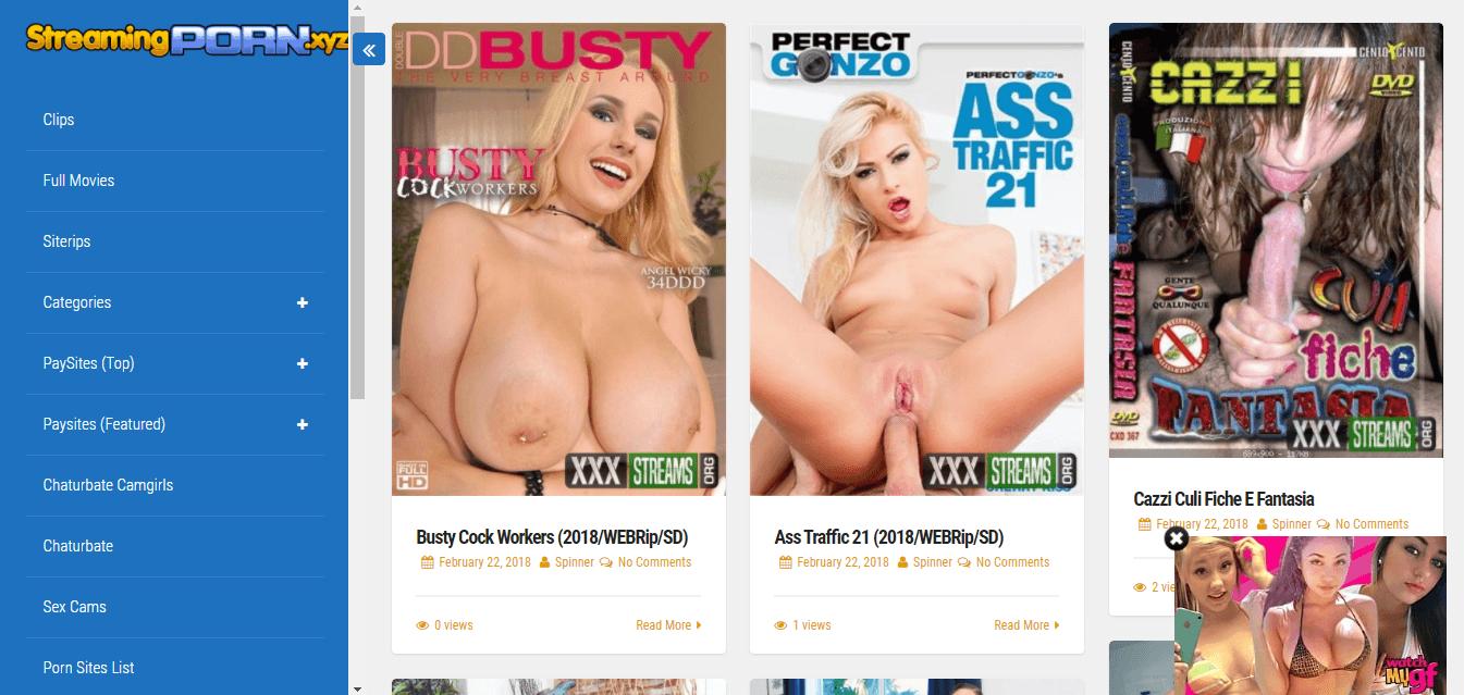Screenshot streamingporn.xyz