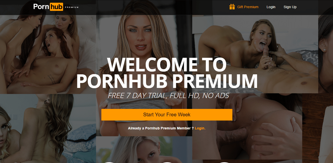 Screenshot Pornhubpremium.com