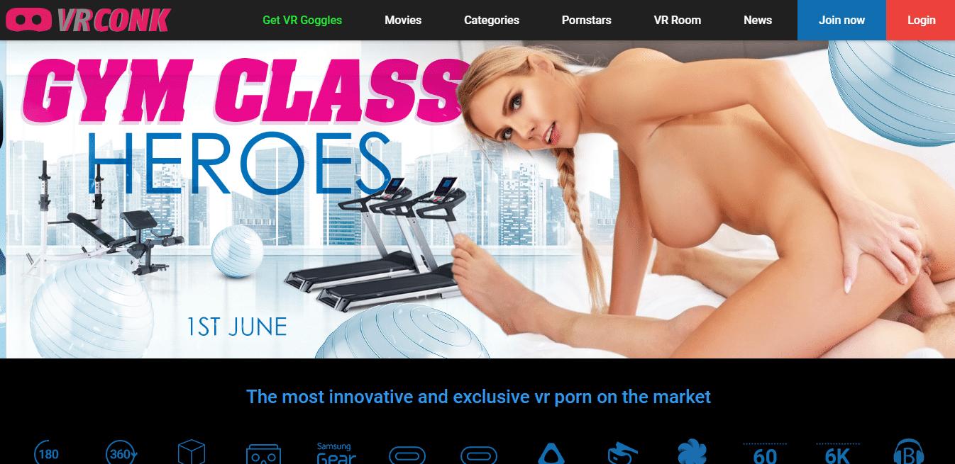 Screenshot vrconk.com